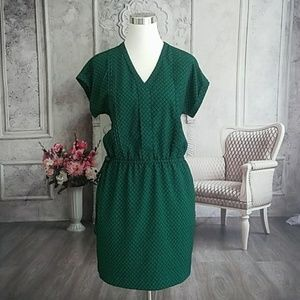 Banana Republic Women's Dress Green Navy Size S